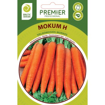 Valgomosios morkos Mokum F1(H) (Daucus carota subsp. sativus) 600s