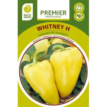 Saldžiosios paprikos WHITNEY H, 15 sėklų