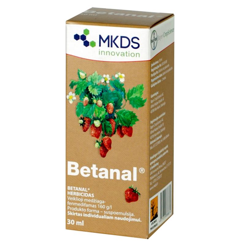 Betanal, herbicidas
