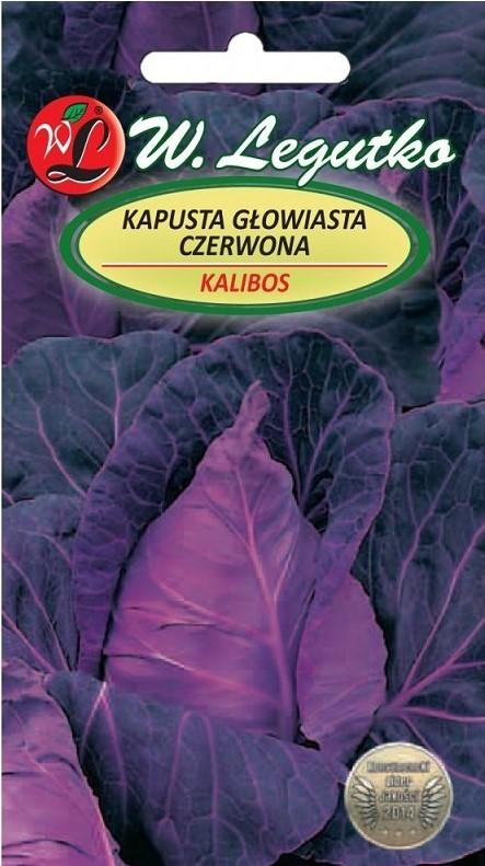 Raudonieji gūžiniai kopūstai Kalibos (lot. Brassica oleracea convar. capitata var. rubra) Sėklų 0,5g