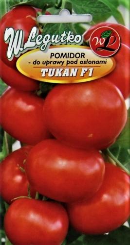 Valgomieji pomidorai Tukan 0,1g (apie 35s)