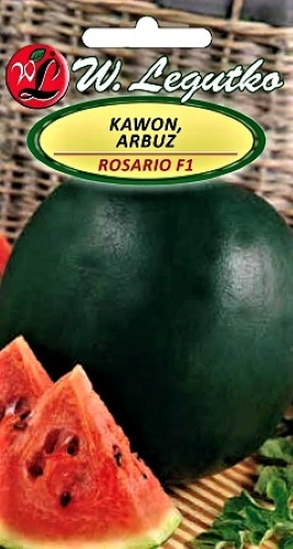 Tikrieji arbūzai Rosario F1 (Citrullus lanatus L.) Sėklų 1g