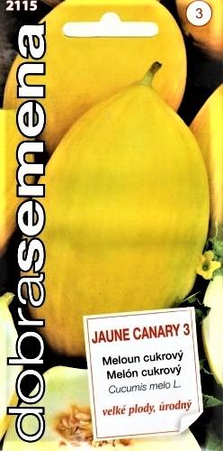 Sėjamieji melionai Jaune Canary 3 (lucumis melo) 20s