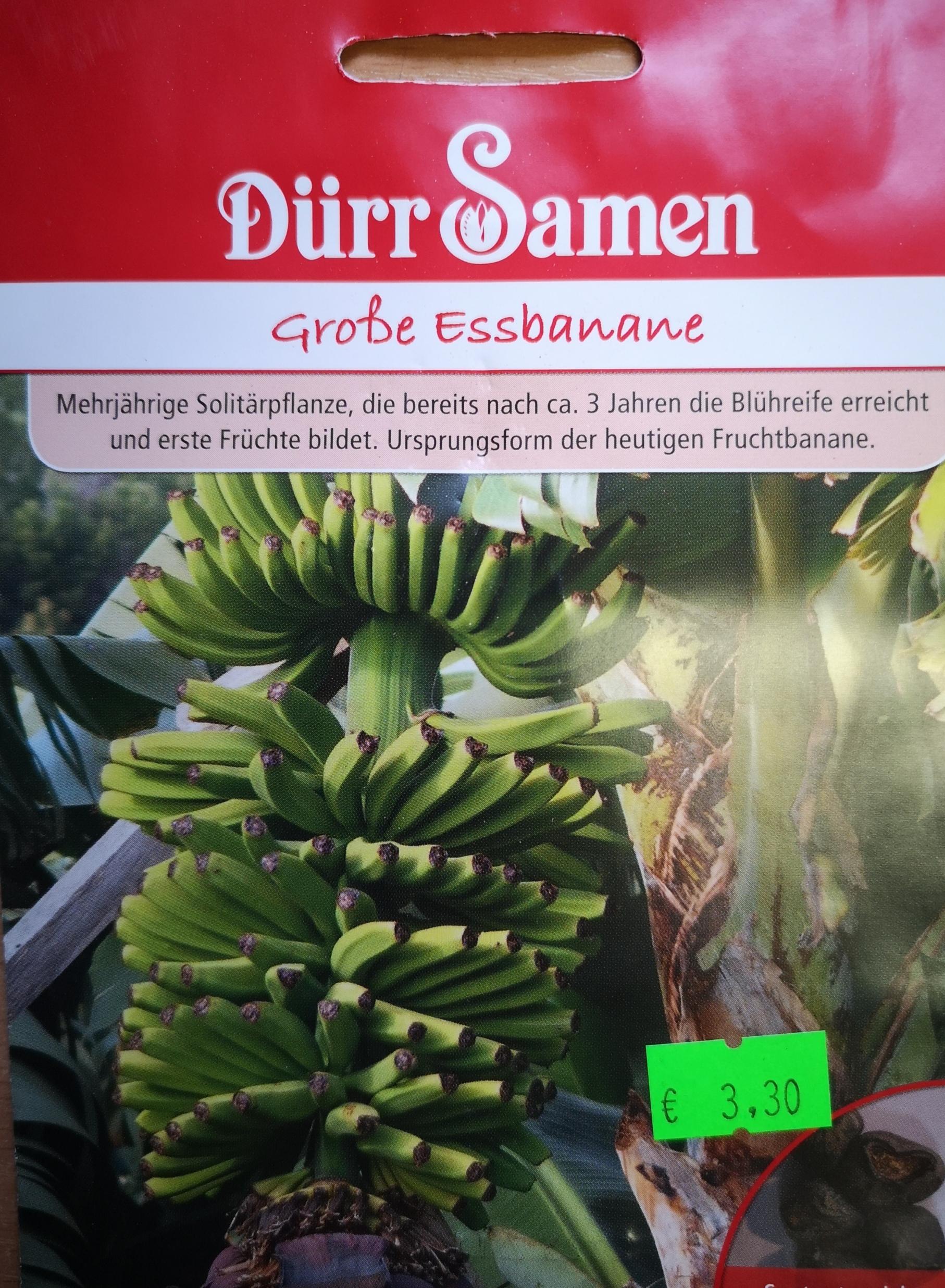 Tikrieji bananai (valgomieji) (Musaxparadisiaca)  5s