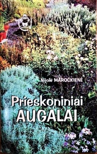 """Knygelė """"Prieskoniniai augalai"""", 41 psl."""