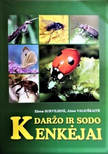 """Knygelė """"Daržo ir sodo kenkėjai"""", 103 psl."""