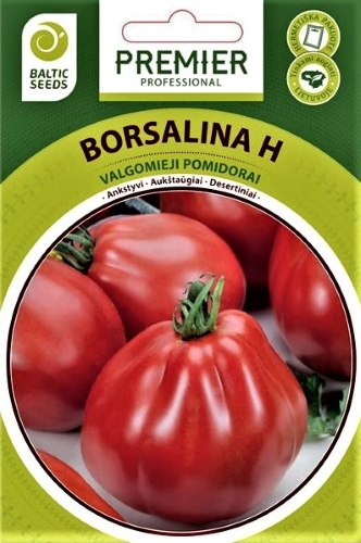 Valgomieji pomidorai Borsalina F1 (H), 5s
