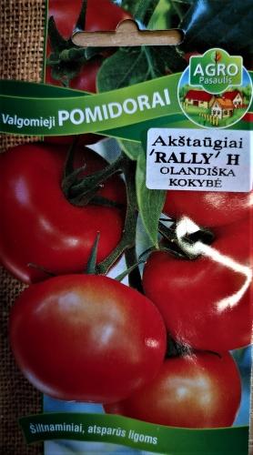Valgomieji pomidorai Rally F1(H) 10s