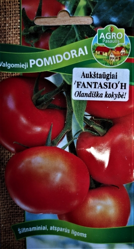 Valgomieji pomidorai Fantasio F1(H) 10s