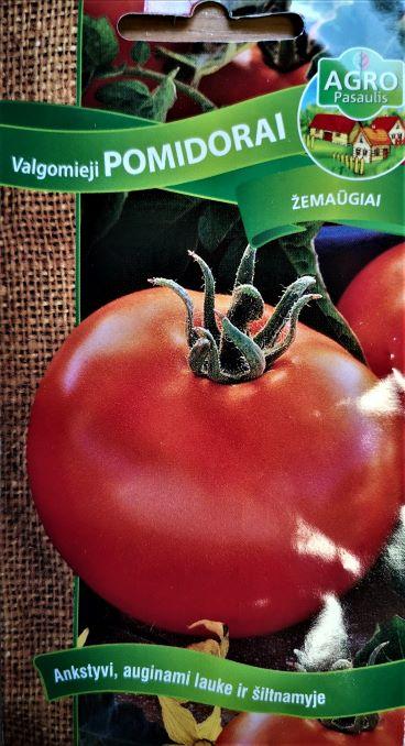 Valgomieji pomidorai Agata 65s