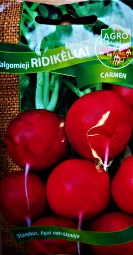 Valgomiej ridikėliai Carmen ( Raphanus sativus var. sativus) 380s
