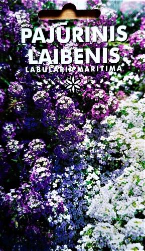 LOBULIARIJOS (LAIBENIAI, ALYSAI) MIŠINYS (LOBULARIA MARITIMA) Sėklų 0,5g