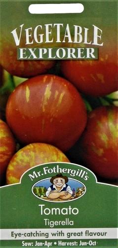 Valgomieji pomidorai Tigerella (Lycopersicon esculentum) 30s