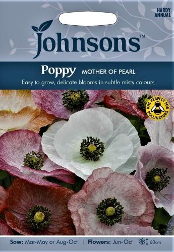 Aguona birulė Mother of Pearl ( Papaver rhoeas) 1000s