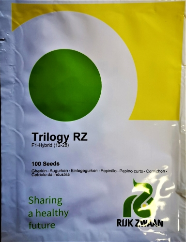 Paprastieji trumpavaisiai agurkai Trilogy F1(H) 100s