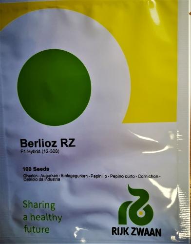 Paprastieji trumpavaisiai agurkai Berlioz F1(H) 100s