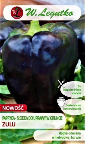 Vienametės paprikos Zulu (lot. Capsicum annuum) Sėklų 0,5g