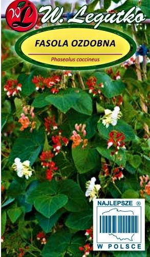 Raudonžiedės pupelės (ŠABALBONAI), mišinys (lot. Phaseolus coccineus) Sėklų 10g