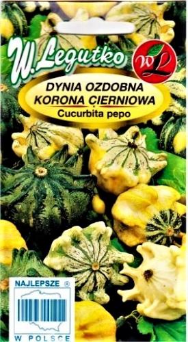 Paprastasis moliūgas (dekoratyvinis) Korona Cierniowa (lot. Cucurbita pepo) Sėklų 1g