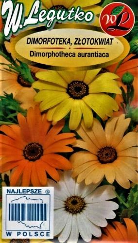 Paprastoji laumakė (mišinys) (lot. Dimorphotheca sinuata) Sėklų 1g