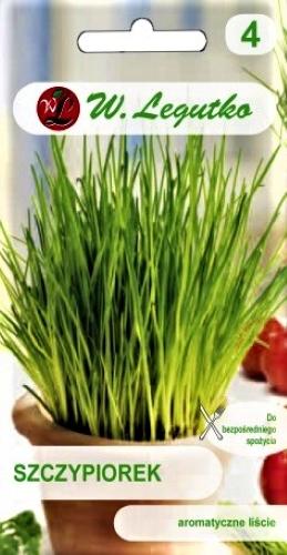 Laiškiniai česnakai TRIBULIAI (žieminiai svogūnai) (lot. Allium schoenoprasum) Sėklų 2g