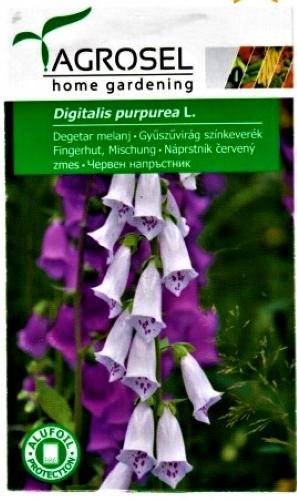 Paprastosios rusmenės mišinys (lot. Digitalis purpurea) Sėklų 0,75g